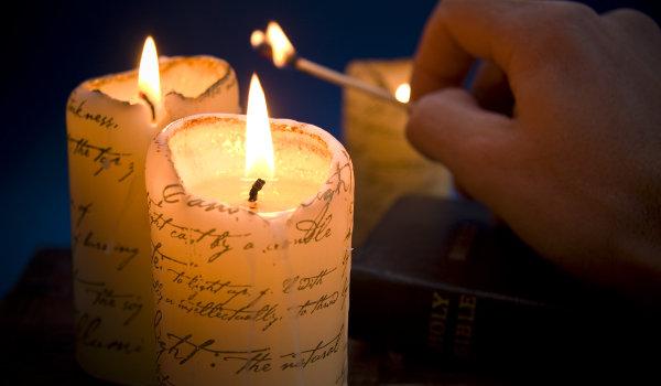 Acendeu velas para trazer vitórias no jogo do bicho
