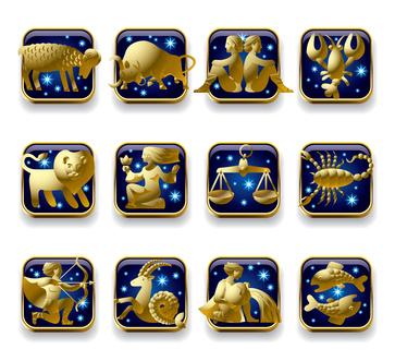 Os 12 signos zodíaco